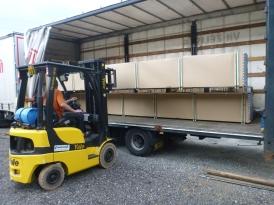 Необходимым условием для непрерывного производства является достаточный запас (не только дюралевых) труб. Несколько раз в год к нам приезжает полный грузовик.